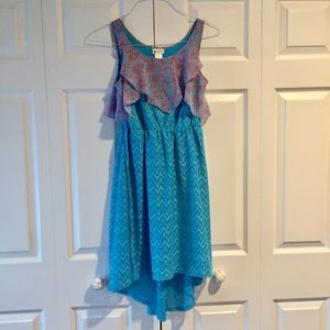 Other - Flowy Blue Dress For Youth Girls